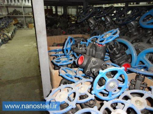 تولید کننده شیر توپی استیل و چدنی و فولادی
