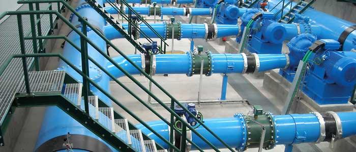 سیستم توزیع مایعات با استفاده از فلومتر مگنتیک