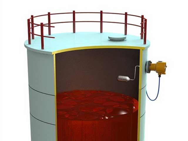 تجهیزات محاسبه مایعات در مخازن اسیدی و گازی