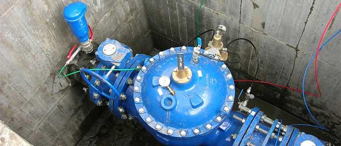 شیر توپی فشار قوی کلاس 600 و کلاس 300 سیستم توزیع سیال