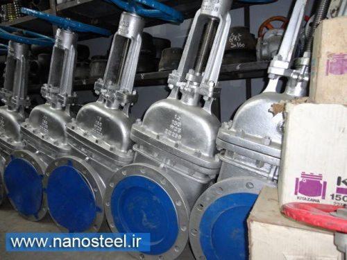 تولید کننده شیر توپی سایز بزرگ و شیر خارجی توپی