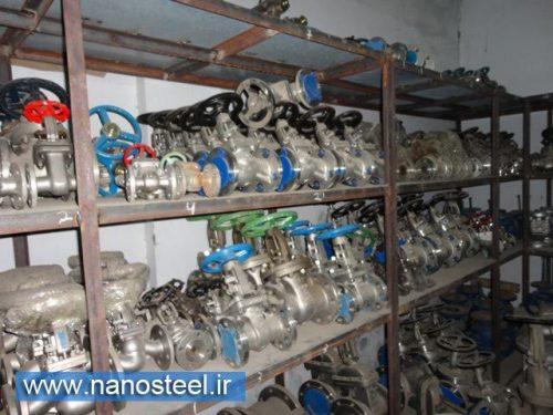 تولید کننده انواع شیر های استیل و فولادی