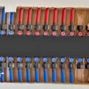 کلکتور ۵ شاخه و اتصالات کوپلی لوله های پنج لایه